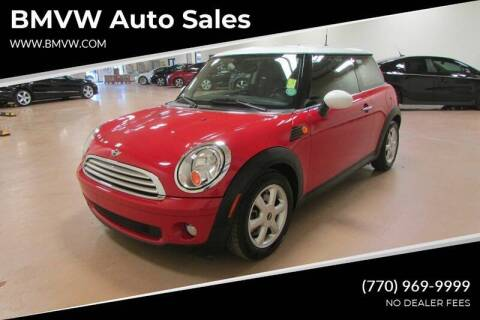 2010 MINI Cooper for sale at BMVW Auto Sales in Union City GA