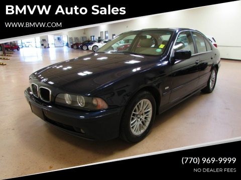 2003 BMW 5 Series for sale at BMVW Auto Sales in Union City GA