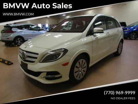 2017 Mercedes-Benz B-Class for sale at BMVW Auto Sales - Electric Vehicles in Union City GA