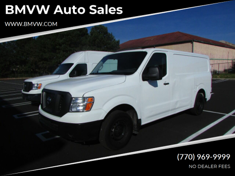 2015 Nissan NV Cargo for sale at BMVW Auto Sales - Trucks and Vans in Union City GA