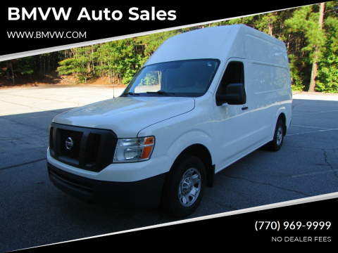 2017 Nissan NV Cargo for sale at BMVW Auto Sales in Union City GA