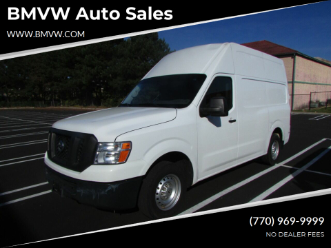 2018 Nissan NV Cargo for sale at BMVW Auto Sales - Trucks and Vans in Union City GA