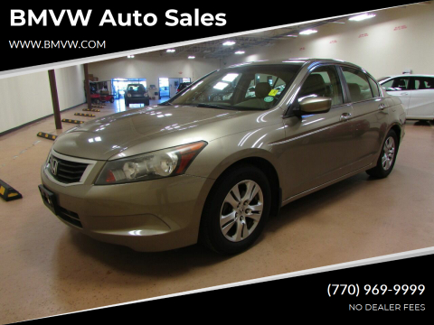 2009 Honda Accord for sale at BMVW Auto Sales in Union City GA