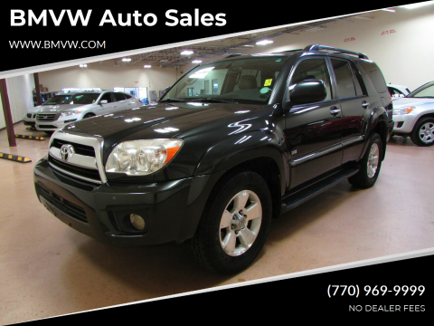2006 Toyota 4Runner for sale at BMVW Auto Sales in Union City GA