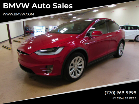 2020 Tesla Model X for sale at BMVW Auto Sales - Electric Vehicles in Union City GA