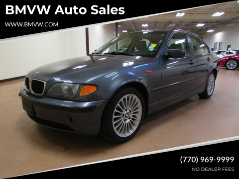 2003 BMW 3 Series for sale at BMVW Auto Sales - Electric Vehicles in Union City GA