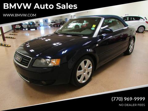 2006 Audi A4 for sale at BMVW Auto Sales in Union City GA