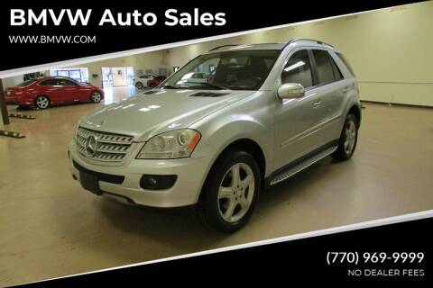 2008 Mercedes-Benz M-Class for sale at BMVW Auto Sales in Union City GA