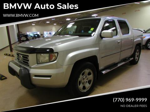2007 Honda Ridgeline for sale at BMVW Auto Sales - Trucks and Vans in Union City GA