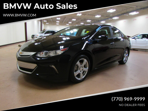 2017 Chevrolet Volt for sale at BMVW Auto Sales - Plug-In Hybrids in Union City GA
