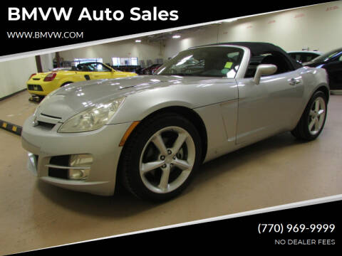 2009 Saturn SKY for sale at BMVW Auto Sales in Union City GA