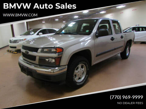 2006 Chevrolet Colorado for sale at BMVW Auto Sales - Trucks and Vans in Union City GA