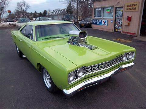 1968 Plymouth Roadrunner for sale at Brian's Sales and Service in Rochester NY
