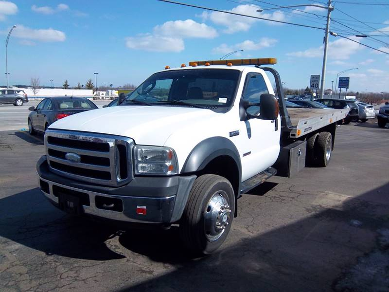 Ford F  Flatbed Tow Truck Rochester Ny