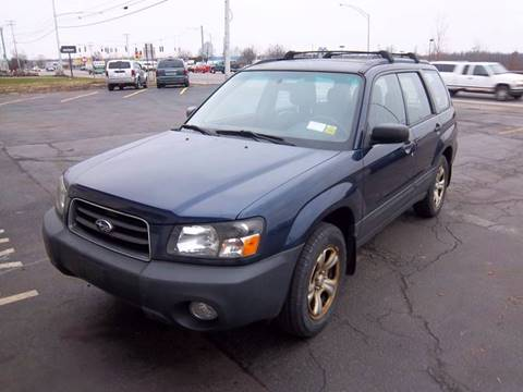2005 Subaru Forester for sale at Brian's Sales and Service in Rochester NY