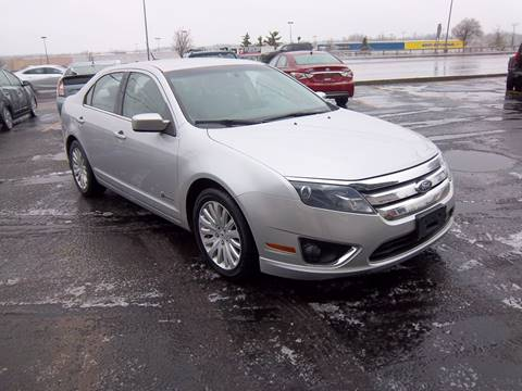 2010 Ford Fusion Hybrid for sale at Brian's Sales and Service in Rochester NY