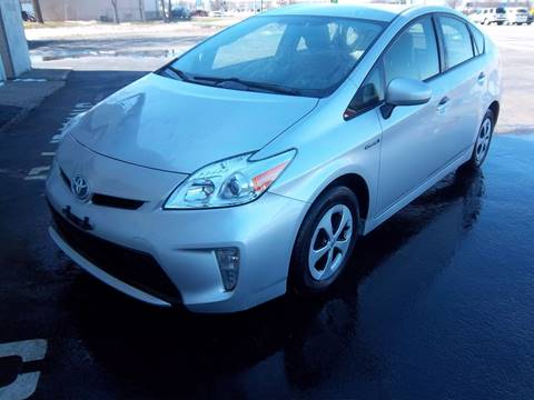 2014 Toyota Prius for sale at Brian's Sales and Service in Rochester NY