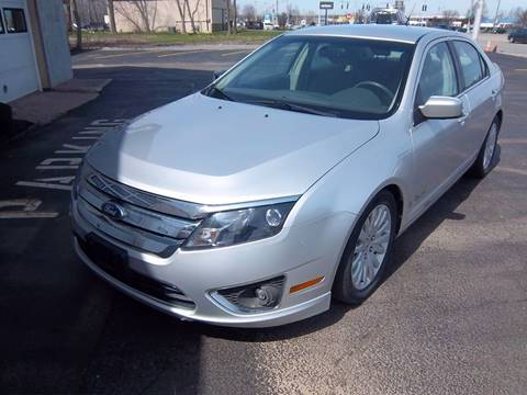 2011 Ford Fusion Hybrid for sale at Brian's Sales and Service in Rochester NY