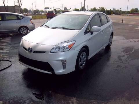 2012 Toyota Prius for sale at Brian's Sales and Service in Rochester NY