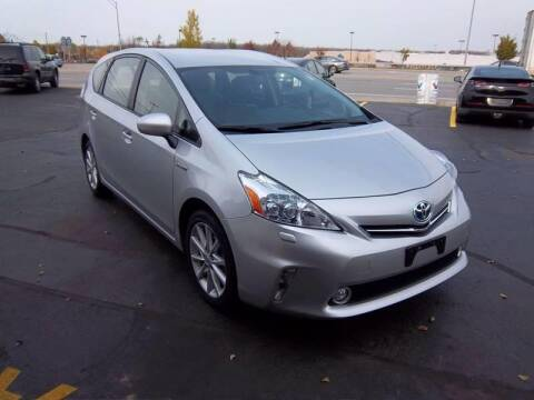 2012 Toyota Prius v for sale at Brian's Sales and Service in Rochester NY