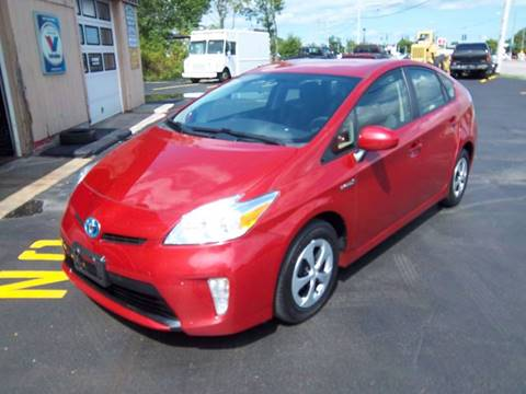 2013 Toyota Prius for sale at Brian's Sales and Service in Rochester NY