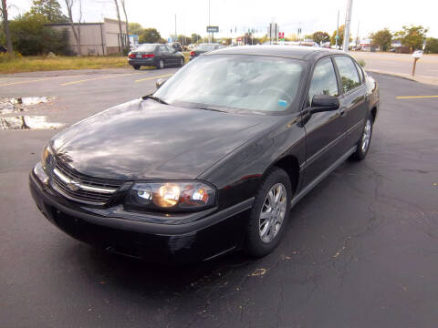 2005 Chevrolet Impala for sale at Brian's Sales and Service in Rochester NY