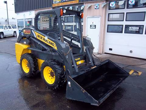 2012 New Holland L218 for sale at Brian's Sales and Service in Rochester NY