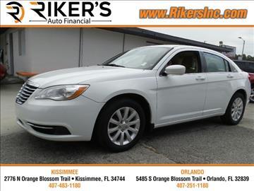 2012 Chrysler 200 for sale in Kissimmee, FL