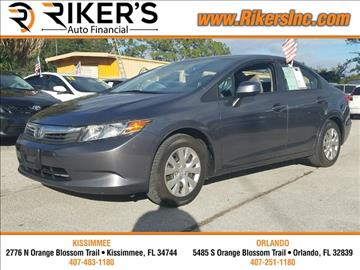 2012 Honda Civic for sale in Kissimmee, FL