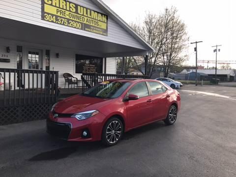 2014 Toyota Corolla for sale in Williamstown, WV