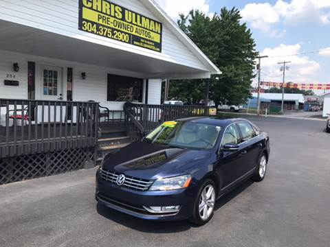 2015 Volkswagen Passat for sale in Williamstown, WV