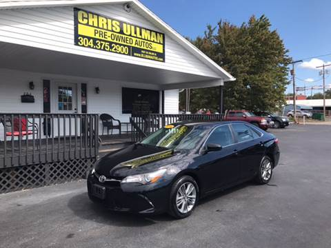 2016 Toyota Camry for sale in Williamstown, WV