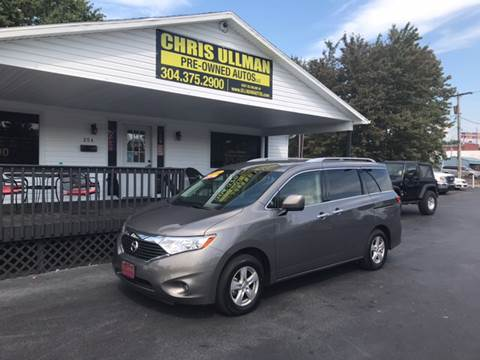 2017 Nissan Quest for sale in Williamstown, WV