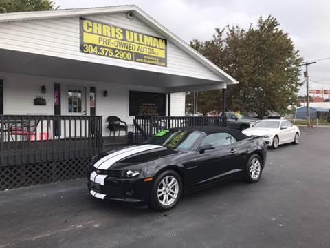 2015 Chevrolet Camaro for sale in Williamstown, WV