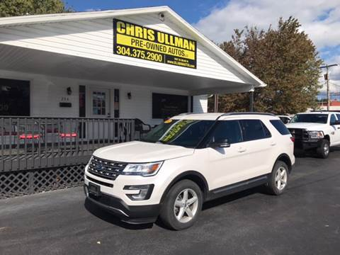 2017 Ford Explorer for sale in Williamstown, WV