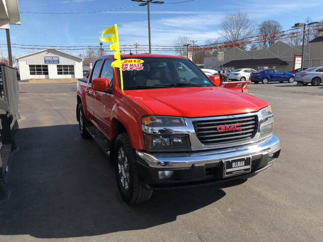 2012 gmc canyon 4x4 sle 2 4dr crew cab in williamstown wv ullman contact publicscrutiny Images