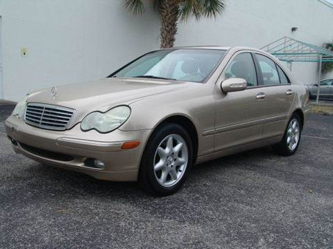 2002 Mercedes-Benz C-Class for sale at Clearwater Auto Sales in Clearwater FL