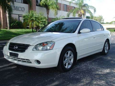 2003 Nissan Altima for sale at Clearwater Auto Sales in Clearwater FL