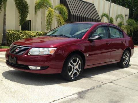 2005 Saturn Ion for sale at Clearwater Auto Sales in Clearwater FL