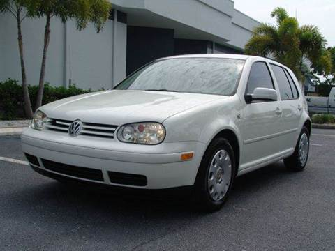 2003 Volkswagen Golf for sale at Clearwater Auto Sales in Clearwater FL