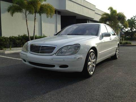 2001 Mercedes-Benz S-Class for sale at Clearwater Auto Sales in Clearwater FL