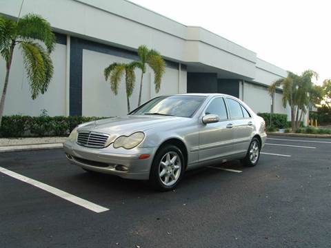 2001 Mercedes-Benz C-Class for sale at Clearwater Auto Sales in Clearwater FL