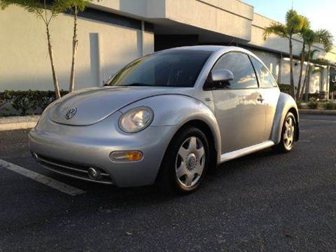2000 Volkswagen Beetle for sale at Clearwater Auto Sales in Clearwater FL