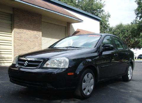 2007 Suzuki Forenza for sale at Clearwater Auto Sales in Clearwater FL