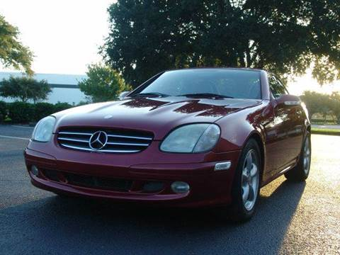 2001 Mercedes-Benz SLK-Class for sale at Clearwater Auto Sales in Clearwater FL