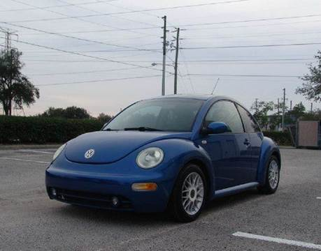 2003 Volkswagen New Beetle for sale at Clearwater Auto Sales in Clearwater FL