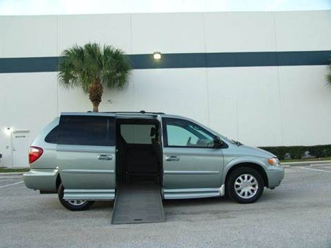 2003 Chrysler Town and Country for sale at Clearwater Auto Sales in Clearwater FL