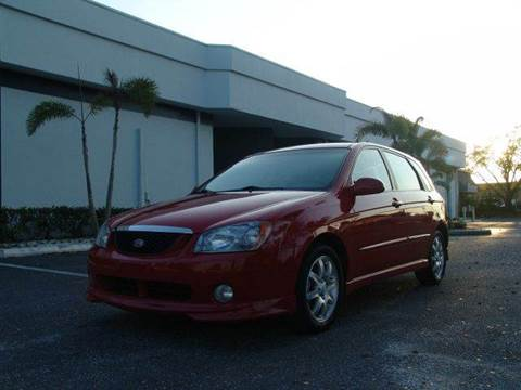 2006 Kia Spectra for sale at Clearwater Auto Sales in Clearwater FL