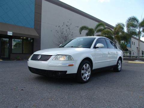 2005 Volkswagen Passat for sale at Clearwater Auto Sales in Clearwater FL
