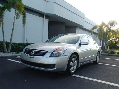 2007 Nissan Altima for sale at Clearwater Auto Sales in Clearwater FL